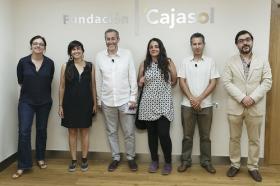 """Presentación de la revista nº16 de eldiario.es 'La ciudad civilizada' en la Fundación Cajasol • <a style=""""font-size:0.8em;"""" href=""""http://www.flickr.com/photos/129072575@N05/34658445360/"""" target=""""_blank"""">View on Flickr</a>"""