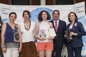 """Entrega IV Premios 'Mi libro preferido' en la Fundación Cajasol (7) • <a style=""""font-size:0.8em;"""" href=""""http://www.flickr.com/photos/129072575@N05/35237407306/"""" target=""""_blank"""">View on Flickr</a>"""