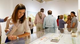 """Exposición 'Itinerario', en la sede de la Fundación Cajasol en Cádiz (2) • <a style=""""font-size:0.8em;"""" href=""""http://www.flickr.com/photos/129072575@N05/35833893206/"""" target=""""_blank"""">View on Flickr</a>"""