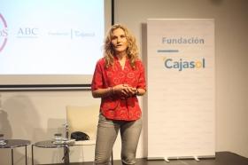 "Encuentros de ABC Córdoba y la Fundación Cajasol: Silvia Congost (4) • <a style=""font-size:0.8em;"" href=""http://www.flickr.com/photos/129072575@N05/37432534885/"" target=""_blank"">View on Flickr</a>"