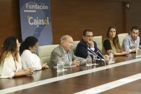 """Presentación de los 'Jueves Flamencos' de Otoño 2017 en la Fundación Cajasol (2) • <a style=""""font-size:0.8em;"""" href=""""http://www.flickr.com/photos/129072575@N05/37254845156/"""" target=""""_blank"""">View on Flickr</a>"""