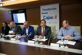 """Presentación de la exposición y subasta 'Artistas contra el hambre' en la Fundación Cajasol (15) • <a style=""""font-size:0.8em;"""" href=""""http://www.flickr.com/photos/129072575@N05/26359841649/"""" target=""""_blank"""">View on Flickr</a>"""