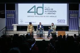 """Encuentros de la SER dedicados a los 40 años del 4 de diciembre con Pablo Iglesias y Teresa Rodríguez (16) • <a style=""""font-size:0.8em;"""" href=""""http://www.flickr.com/photos/129072575@N05/23953884858/"""" target=""""_blank"""">View on Flickr</a>"""