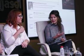 """Fundación Cajasol en un tuit: Redes Sociales y Divulgación Científica (3) • <a style=""""font-size:0.8em;"""" href=""""http://www.flickr.com/photos/129072575@N05/37599997312/"""" target=""""_blank"""">View on Flickr</a>"""