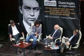 "Letras en Sevilla: Chaves Nogales, una tragedia española, con 'Juan Belmonte, matador de toros' (8) • <a style=""font-size:0.8em;"" href=""http://www.flickr.com/photos/129072575@N05/38060064051/"" target=""_blank"">View on Flickr</a>"