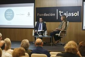 "Aula de Cultura ABC en Fundación Cajasol: Cristina Morató (15) • <a style=""font-size:0.8em;"" href=""http://www.flickr.com/photos/129072575@N05/24093108318/"" target=""_blank"">View on Flickr</a>"