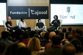 """Jornadas 'Los oficios del cine' en la Fundación Cajasol (7) • <a style=""""font-size:0.8em;"""" href=""""http://www.flickr.com/photos/129072575@N05/37426601514/"""" target=""""_blank"""">View on Flickr</a>"""