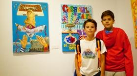 "Exposición 'Carteles del Carnaval de Cádiz 2018' en la Fundación Cajasol (5) • <a style=""font-size:0.8em;"" href=""http://www.flickr.com/photos/129072575@N05/37194073114/"" target=""_blank"">View on Flickr</a>"