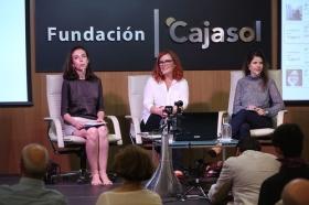 """Fundación Cajasol en un tuit: Redes Sociales y Divulgación Científica (12) • <a style=""""font-size:0.8em;"""" href=""""http://www.flickr.com/photos/129072575@N05/37599997682/"""" target=""""_blank"""">View on Flickr</a>"""