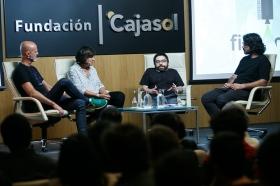 """Jornadas 'Los oficios del cine' en la Fundación Cajasol (10) • <a style=""""font-size:0.8em;"""" href=""""http://www.flickr.com/photos/129072575@N05/26359844909/"""" target=""""_blank"""">View on Flickr</a>"""