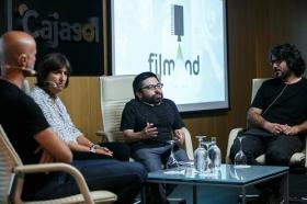 """Jornadas 'Los oficios del cine' en la Fundación Cajasol (13) • <a style=""""font-size:0.8em;"""" href=""""http://www.flickr.com/photos/129072575@N05/37426602434/"""" target=""""_blank"""">View on Flickr</a>"""