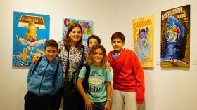 "Exposición 'Carteles del Carnaval de Cádiz 2018' en la Fundación Cajasol (4) • <a style=""font-size:0.8em;"" href=""http://www.flickr.com/photos/129072575@N05/24051781898/"" target=""_blank"">View on Flickr</a>"