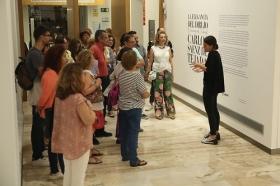 "Noche en Blanco Sevilla 2017 en la Fundación Cajasol (2) • <a style=""font-size:0.8em;"" href=""http://www.flickr.com/photos/129072575@N05/37544363211/"" target=""_blank"">View on Flickr</a>"