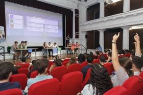 """Día de la Educación Financiera 2017 en la Fundación Cajasol (7) • <a style=""""font-size:0.8em;"""" href=""""http://www.flickr.com/photos/129072575@N05/36799616013/"""" target=""""_blank"""">View on Flickr</a>"""