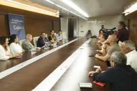 """Presentación de los 'Jueves Flamencos' de Otoño 2017 en la Fundación Cajasol (3) • <a style=""""font-size:0.8em;"""" href=""""http://www.flickr.com/photos/129072575@N05/37254845816/"""" target=""""_blank"""">View on Flickr</a>"""