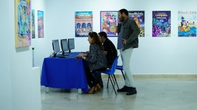 "Exposición 'Carteles del Carnaval de Cádiz 2018' en la Fundación Cajasol (11) • <a style=""font-size:0.8em;"" href=""http://www.flickr.com/photos/129072575@N05/37194072364/"" target=""_blank"">View on Flickr</a>"