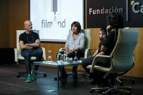 """Jornadas 'Los oficios del cine' en la Fundación Cajasol (2) • <a style=""""font-size:0.8em;"""" href=""""http://www.flickr.com/photos/129072575@N05/26359843579/"""" target=""""_blank"""">View on Flickr</a>"""