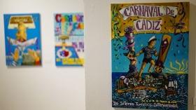 "Exposición 'Carteles del Carnaval de Cádiz 2018' en la Fundación Cajasol (9) • <a style=""font-size:0.8em;"" href=""http://www.flickr.com/photos/129072575@N05/37855222516/"" target=""_blank"">View on Flickr</a>"