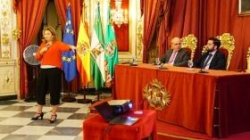 """Conferencia de Sarah Harmon en 'De Cádiz al Mundo' (6) • <a style=""""font-size:0.8em;"""" href=""""http://www.flickr.com/photos/129072575@N05/38081567066/"""" target=""""_blank"""">View on Flickr</a>"""