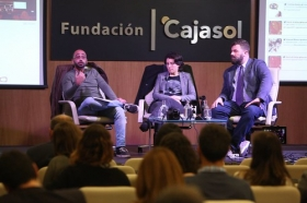 """Fundación Cajasol en un tuit: 'Los límites del derecho y el social media' (18) • <a style=""""font-size:0.8em;"""" href=""""http://www.flickr.com/photos/129072575@N05/26664532149/"""" target=""""_blank"""">View on Flickr</a>"""