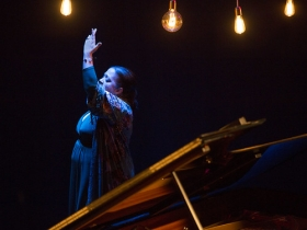 "Jueves Flamencos de la Fundación Cajasol: Angelita Montoya (12) • <a style=""font-size:0.8em;"" href=""http://www.flickr.com/photos/129072575@N05/24434080168/"" target=""_blank"">View on Flickr</a>"