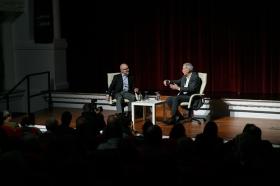 """Conferencia de Eduardo Mendoza en la Fundación Cajasol (15) • <a style=""""font-size:0.8em;"""" href=""""http://www.flickr.com/photos/129072575@N05/38412497341/"""" target=""""_blank"""">View on Flickr</a>"""