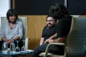 """Jornadas 'Los oficios del cine' en la Fundación Cajasol (15) • <a style=""""font-size:0.8em;"""" href=""""http://www.flickr.com/photos/129072575@N05/37426602764/"""" target=""""_blank"""">View on Flickr</a>"""