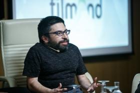 """Jornadas 'Los oficios del cine' en la Fundación Cajasol (12) • <a style=""""font-size:0.8em;"""" href=""""http://www.flickr.com/photos/129072575@N05/26359845299/"""" target=""""_blank"""">View on Flickr</a>"""