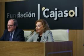 "Conferencia de Ángel Gabilondo en la Fundación Cajasol (9) • <a style=""font-size:0.8em;"" href=""http://www.flickr.com/photos/129072575@N05/38844960121/"" target=""_blank"">View on Flickr</a>"