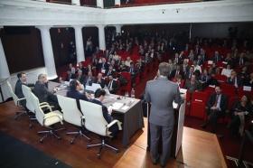 """Desayunos Informativos de Europa Press, con el ministro de Justicia, Rafael Catalá, en la Fundación Cajasol (2) • <a style=""""font-size:0.8em;"""" href=""""http://www.flickr.com/photos/129072575@N05/24829587248/"""" target=""""_blank"""">View on Flickr</a>"""