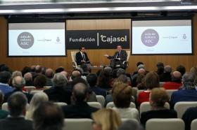 """Ignacio Camacho presenta 'Cataluña, la herida de España', en la Fundación Cajasol (11) • <a style=""""font-size:0.8em;"""" href=""""http://www.flickr.com/photos/129072575@N05/25200826818/"""" target=""""_blank"""">View on Flickr</a>"""