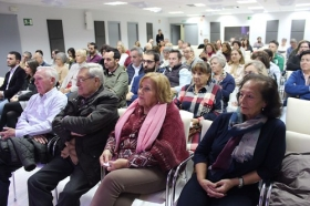 "Mesa redonda 'Huelva, la capital de la buena mesa' en la Fundación Cajasol (5) • <a style=""font-size:0.8em;"" href=""http://www.flickr.com/photos/129072575@N05/26926409569/"" target=""_blank"">View on Flickr</a>"