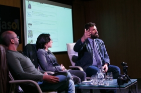 """Fundación Cajasol en un tuit: 'Los límites del derecho y el social media' (11) • <a style=""""font-size:0.8em;"""" href=""""http://www.flickr.com/photos/129072575@N05/26664531439/"""" target=""""_blank"""">View on Flickr</a>"""
