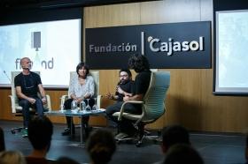 """Jornadas 'Los oficios del cine' en la Fundación Cajasol (16) • <a style=""""font-size:0.8em;"""" href=""""http://www.flickr.com/photos/129072575@N05/37426603164/"""" target=""""_blank"""">View on Flickr</a>"""