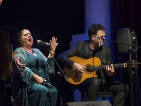 "Jueves Flamencos de la Fundación Cajasol: Angelita Montoya (9) • <a style=""font-size:0.8em;"" href=""http://www.flickr.com/photos/129072575@N05/38304264971/"" target=""_blank"">View on Flickr</a>"