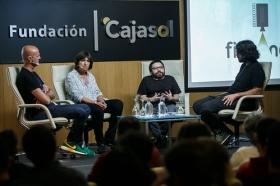 """Jornadas 'Los oficios del cine' en la Fundación Cajasol (14) • <a style=""""font-size:0.8em;"""" href=""""http://www.flickr.com/photos/129072575@N05/38104579352/"""" target=""""_blank"""">View on Flickr</a>"""