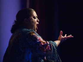 "Jueves Flamencos de la Fundación Cajasol: Angelita Montoya (10) • <a style=""font-size:0.8em;"" href=""http://www.flickr.com/photos/129072575@N05/38249815576/"" target=""_blank"">View on Flickr</a>"