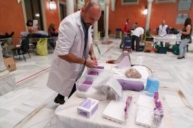 """IX Maratón de Donación de Sangre en la Fundación Cajasol (2) • <a style=""""font-size:0.8em;"""" href=""""http://www.flickr.com/photos/129072575@N05/38246844272/"""" target=""""_blank"""">View on Flickr</a>"""