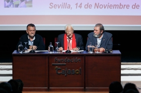 "Conferencia del Padre Ángel en la Fundación Cajasol (6) • <a style=""font-size:0.8em;"" href=""http://www.flickr.com/photos/129072575@N05/38385080366/"" target=""_blank"">View on Flickr</a>"