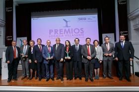 """Entrega de los V Premios Losada Villasante en la Fundación Cajasol • <a style=""""font-size:0.8em;"""" href=""""http://www.flickr.com/photos/129072575@N05/38497530061/"""" target=""""_blank"""">View on Flickr</a>"""
