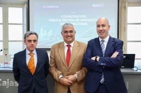 "Foro sobre colaboración público-privada en Andalucía: infraestructuras • <a style=""font-size:0.8em;"" href=""http://www.flickr.com/photos/129072575@N05/38702243521/"" target=""_blank"">View on Flickr</a>"