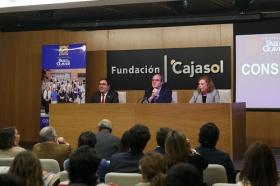 "Conferencia de Ángel Gabilondo en la Fundación Cajasol (11) • <a style=""font-size:0.8em;"" href=""http://www.flickr.com/photos/129072575@N05/38129092864/"" target=""_blank"">View on Flickr</a>"