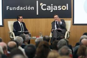 """Ignacio Camacho presenta 'Cataluña, la herida de España', en la Fundación Cajasol (9) • <a style=""""font-size:0.8em;"""" href=""""http://www.flickr.com/photos/129072575@N05/38357023804/"""" target=""""_blank"""">View on Flickr</a>"""