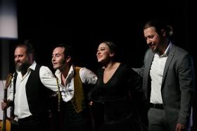 "Jueves Flamencos: Asunción Pérez 'Choni' & David Pérez en 'De2' • <a style=""font-size:0.8em;"" href=""http://www.flickr.com/photos/129072575@N05/39067476801/"" target=""_blank"">View on Flickr</a>"