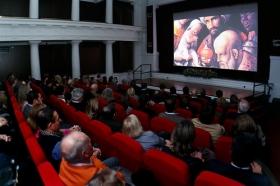 """Estreno del documental del centenario de la cabalgata de los Reyes Magos de Sevilla en la Fundación Cajasol (2) • <a style=""""font-size:0.8em;"""" href=""""http://www.flickr.com/photos/129072575@N05/39002431341/"""" target=""""_blank"""">View on Flickr</a>"""