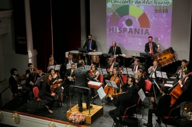 """Concierto de Año Nuevo 2018 en la Fundación Cajasol (5) • <a style=""""font-size:0.8em;"""" href=""""http://www.flickr.com/photos/129072575@N05/24626180797/"""" target=""""_blank"""">View on Flickr</a>"""
