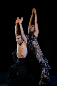"Jueves Flamencos: Asunción Pérez 'Choni' & David Pérez en 'De2' (23) • <a style=""font-size:0.8em;"" href=""http://www.flickr.com/photos/129072575@N05/39067477551/"" target=""_blank"">View on Flickr</a>"