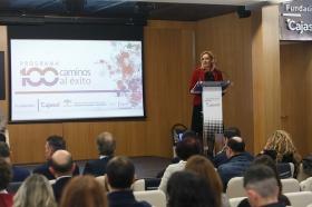 """Clausura IV Programa '100 Caminos al Éxito' en la Fundación Cajasol • <a style=""""font-size:0.8em;"""" href=""""http://www.flickr.com/photos/129072575@N05/39126416151/"""" target=""""_blank"""">View on Flickr</a>"""
