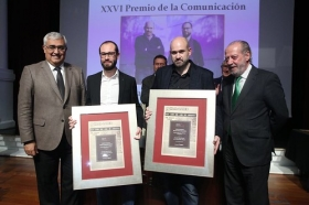 """Entrega de los XXVI Premios de la Comunicación de la Asociación de la Prensa de Sevilla • <a style=""""font-size:0.8em;"""" href=""""http://www.flickr.com/photos/129072575@N05/39879627291/"""" target=""""_blank"""">View on Flickr</a>"""