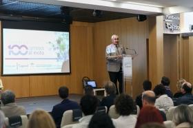 """Clausura IV Programa '100 Caminos al Éxito' en la Fundación Cajasol (2) • <a style=""""font-size:0.8em;"""" href=""""http://www.flickr.com/photos/129072575@N05/27348745149/"""" target=""""_blank"""">View on Flickr</a>"""